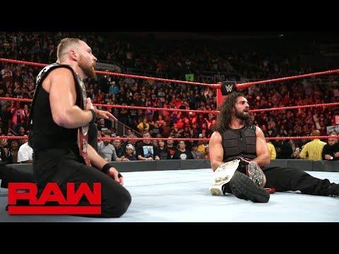 McIntyre & Ziggler vs. Rollins & Ambrose - Raw Tag Team Championship Match: Raw, Oct. 22, 2018 thumbnail