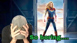 Reaction - Another Boring Captain Marvel Trailer