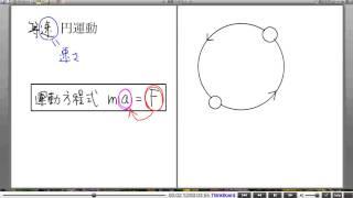 高校物理解説講義:「円運動」講義1