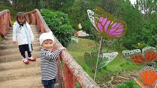 Trò Chơi Tham Quan Vườn Bướm Mùa Xuân ❤ ChiChi ToysReview TV ❤ Đồ Chơi Trẻ Em