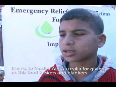 Muslim Aid Australia - Gaza floods 2010