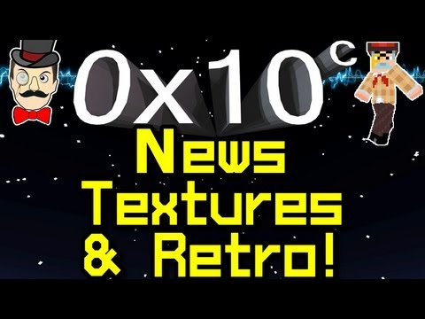 0x10c - News NO TEXTURES Retro Look ! Notch Space Game !