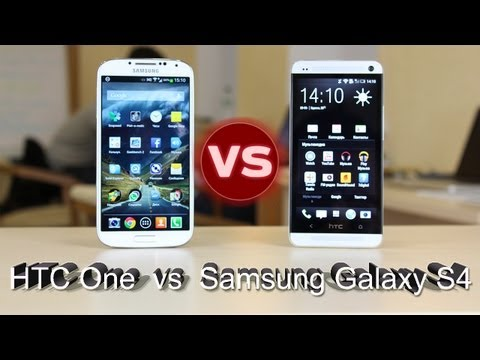HTC One против Galaxy S4: Битва Титанов (HTC One vs Samsung Galaxy SIV)