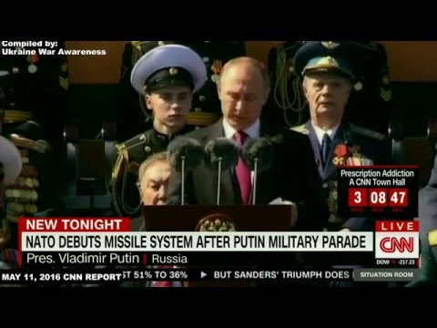 "More CNN Misinformation. Russia's ""Aggressive"" Victory Parade. US Troops marched before Red Square"