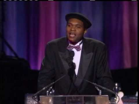 Robert Cray Inducts Howlin' Wolf 1991