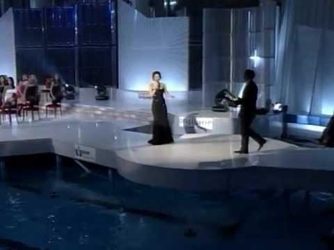 Sandra Bagarić i Saša Hršum @ Miss BiH 2003