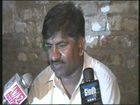 Khipro Sindh Tv News  Zaneeb Bhio Rep Case Dr Amin Bhio Je Press Confernce. video