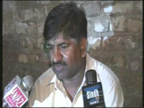 Khipro Sindh Tv News  Zaneeb Bhio Rep Case Dr Amin Bhio Je Press Confernce. video