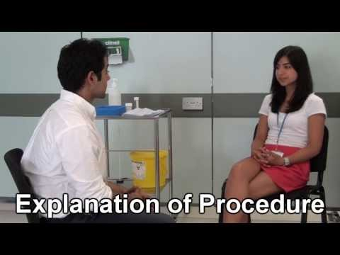 Bimanual Vaginal Examination video