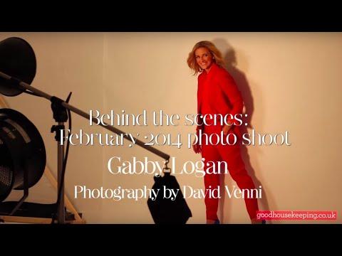 Gabby Logan GH photo shoot February 2014