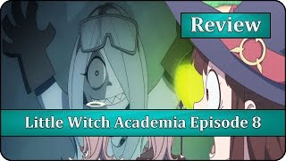 Sucy the Mad Scientist - Little Witch Academia (TV) Episode 8 Anime Review