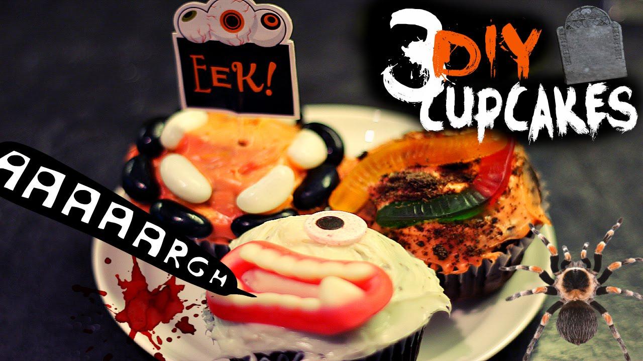 Ideas For Halloween Cupcakes Cupcake Decorating Ideas