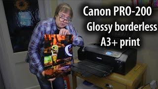 "02. Canon Pixma PRO-200 glossy borderless A3+ (13"" x 19"") print"