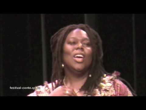 Jan Blake, storyteller - Jamaica-UK - Québec Storytelling Festival - 091018