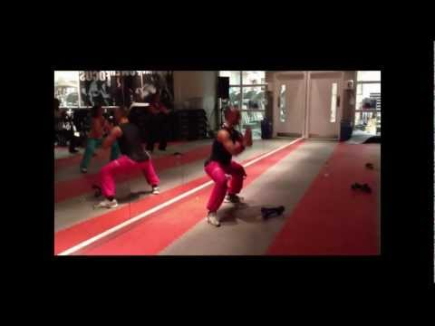 Zumba Toning With Davide From Zumba Northwood - Bellydance video