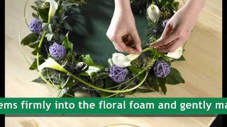 OASIS® Floral Products ~ How To ~ Diamonds Are A Girls Best Friend