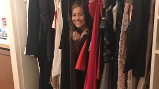 SHOPPING FOR OSCARS RED CARPET DRESS!! | Shawn Johnson