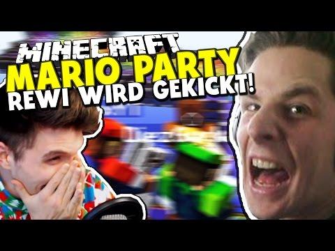 TSCHÜSS REWI - GEKICKT WEGEN BELEIDIGUNG ✪ Minecraft Mario Party mit Rewinside