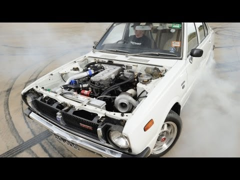 Corolla sleeper - Nissan VG30 turbo powered