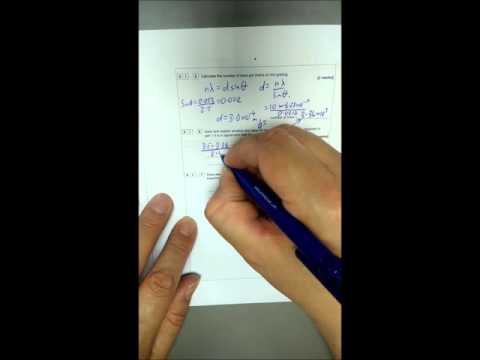 AS Physics Specimen Paper Walkthrough Paper 2