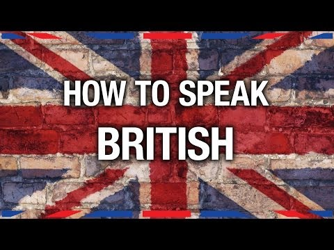 How To Speak British - Anglophenia Ep 7