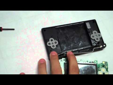 How to Fix DS Lite Broken Hinge & Replace Shell 2/2