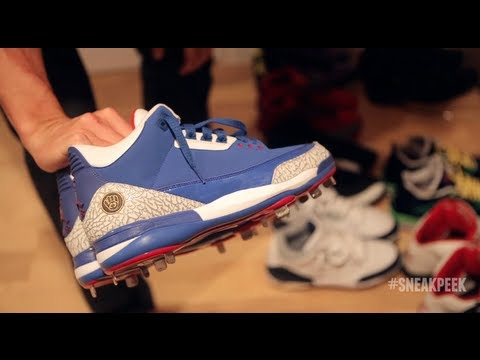 Sneak Peek: Inside Kansas City Royals Pitcher Jeremy Guthrie's Sneaker Vault
