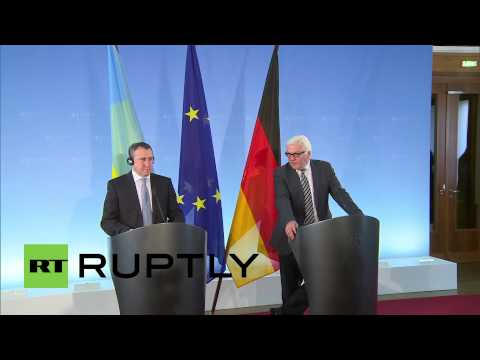 Germany: Ukrainian elections crucial for stability, says FM Steinmeier