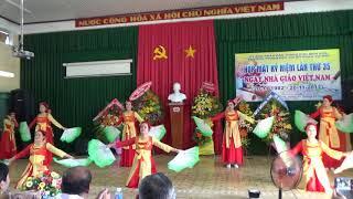 [Văn nghệ 20-11-2017] Non nuoc Viet Nam - Nhom co giao Hung Vuong