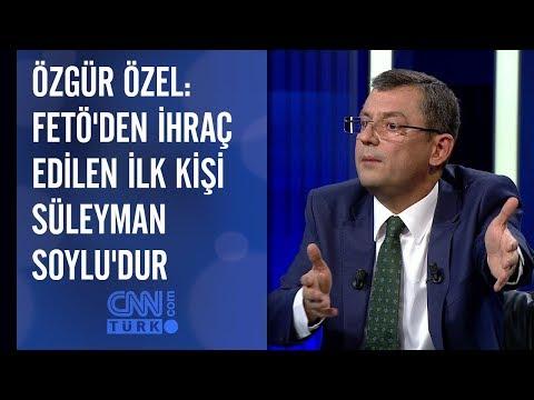 Özgür Özel: FETÖ'den ihraç edilen ilk kişi Süleyman Soylu'dur
