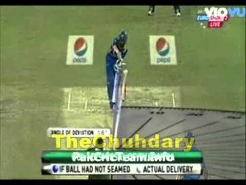 Umar Gul Bowled Tharanga With a Wonderful Delivery ~ Pakistan vs Sri Lanka