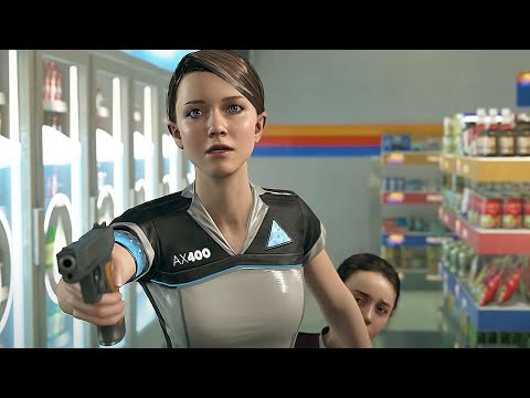 Kara Robs the Store - Detroit Become Human