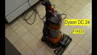Dyson dc24 (No Suction ,Switch  mechanism ,Brush) FIX