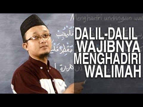 Serial Fikih Keluarga (31): Dalil Dianjurkannya Menghadiri Undangan Walimah - Ustadz Aris Munandar
