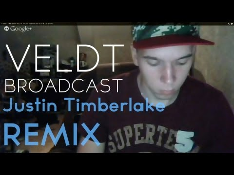STUDIO TIME WITH VELDT! JUSTIN TIMBERLAKE SUIT & TIE REMIX