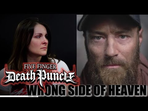 Five Finger Death Punch Wrong Side of Heaven Reaction!!