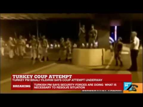 Turkey coup attempt: Army forces control bridges, airports and public radio broadcast