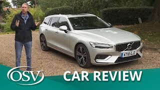Volvo V60 2018 Car Review - The Safe & Sensible Estate
