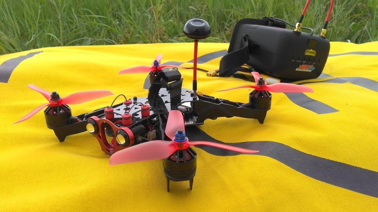 Квадрокоптер гоночный своими руками
