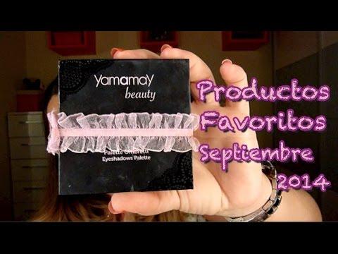Productos Favoritos Septiembre 2014
