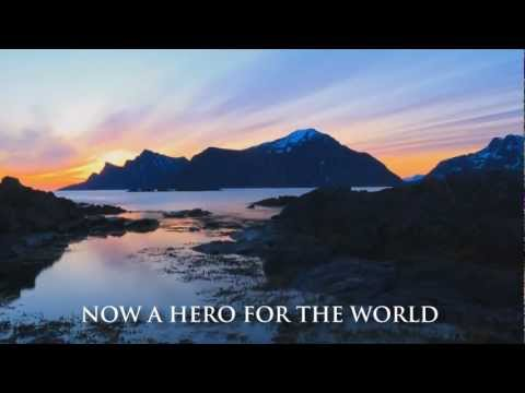 A HERO FOR THE WORLD - One Hope Of Light (Lyric Video)