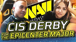 NAVI DOTA2 ВЛОГ: СНГ-Дерби за Выход на EPICENTER Major