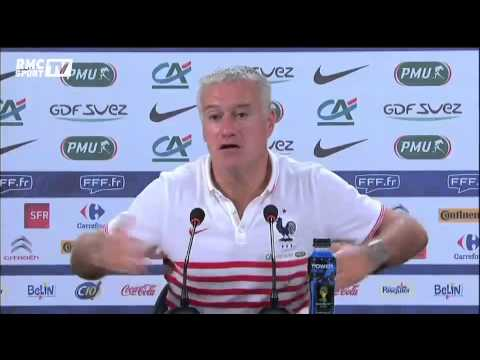 Football / Deschamps chambre Matuidi - 21/06