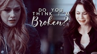 ✘ Sad Multifandom | Do you think I´m broken?