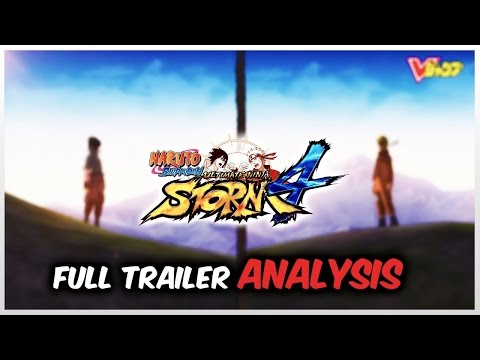 NARUTO Ultimate Ninja STORM 4 TRAILER Review ANALYSIS PS4 Jump Festa 2014