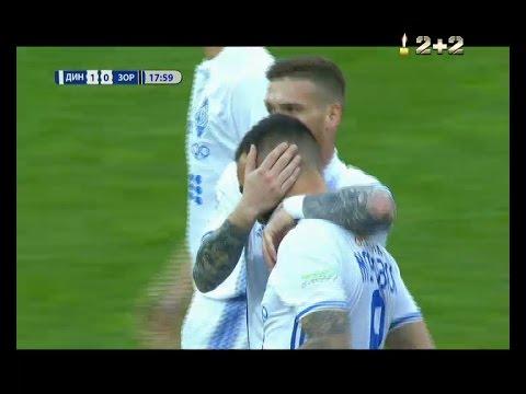Динамо - Заря - 1:0. Гол: Морозюк (18')