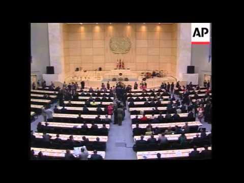SWITZERLAND: GENEVA: MINISTERS GATHER FOR ADB CONFERENCE
