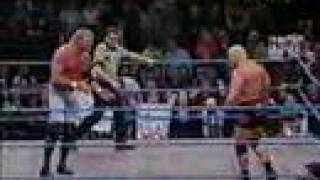Scott steiner V Sid vicious WCW Thunder 01-10-01