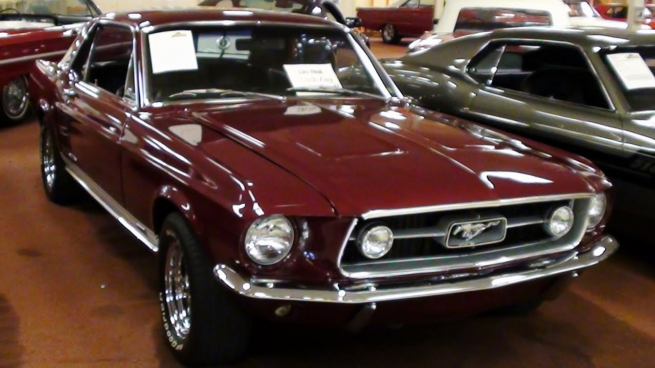 1967 Ford Mustang Gta 390 V8 Youtube