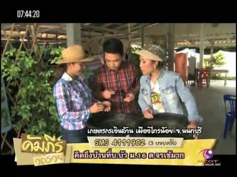 คัมภีร์วิถีรวย30 04 2013)เกษตรกรเงินล้าน เมืองไทรน้อย จ นนทบุรี กับ ศศิธร จุ้ยนาม ผจก ฟาร์มลุงเครา